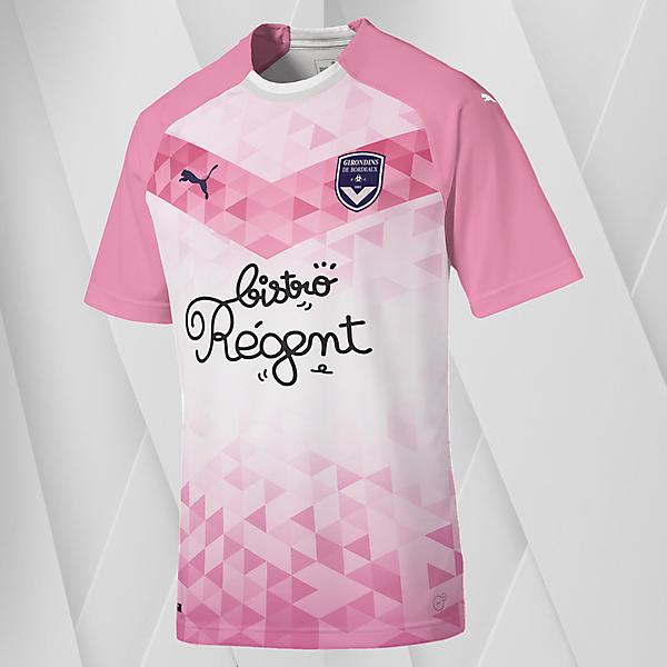 Puma Bordeaux Away Jersey Concept