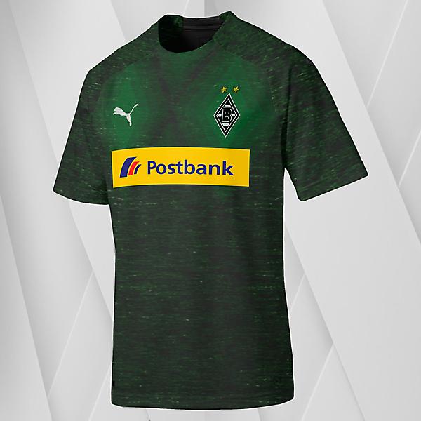 Puma Borussia Monchengladbach Away Jersey Concept