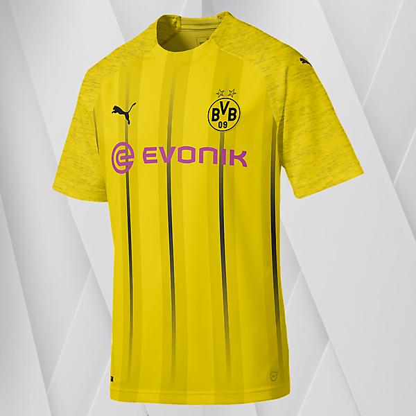 Puma Dortmund Home Jersey Concept