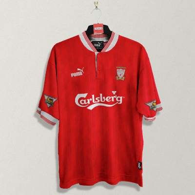 Puma Liverpool 1995-96 Home Jersey retroconcept