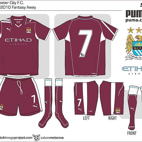 Man City fantasy Puma Away