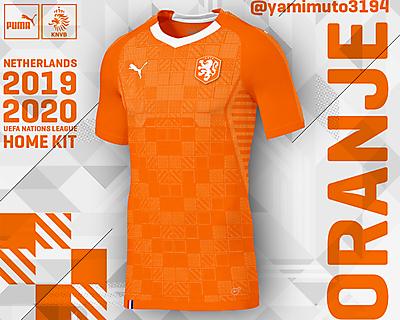 Puma Netherlands Home Shirt