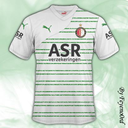 Feyenoord Away + New Puma template