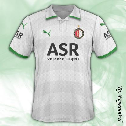 Feyenoord Away and Third