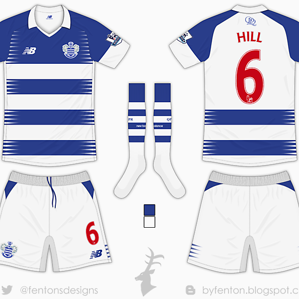 QPR Home Kit - New Balance