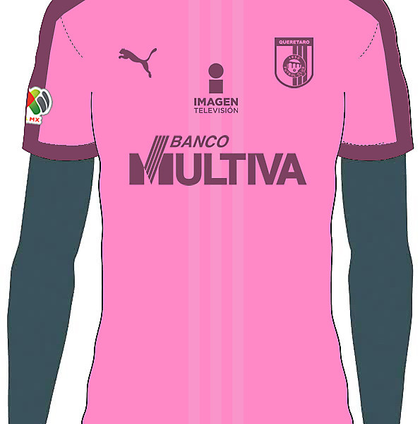 Querétaro F.C. Third Kit Concept