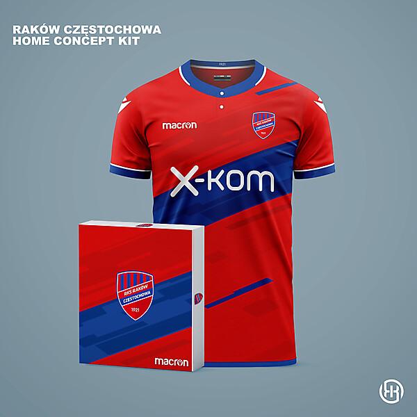 Rakow Czestochowa | Home kit concept