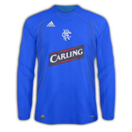 Rangers Adidas sans Stripe