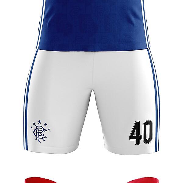 Rangers x Adidas - Home Kit