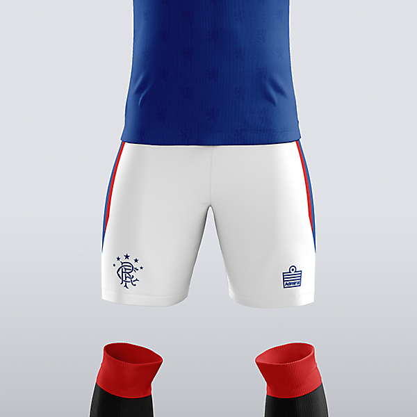 Rangers x Admiral - Home Kit