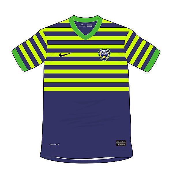 Rapid United 2014/2015 Home Kit