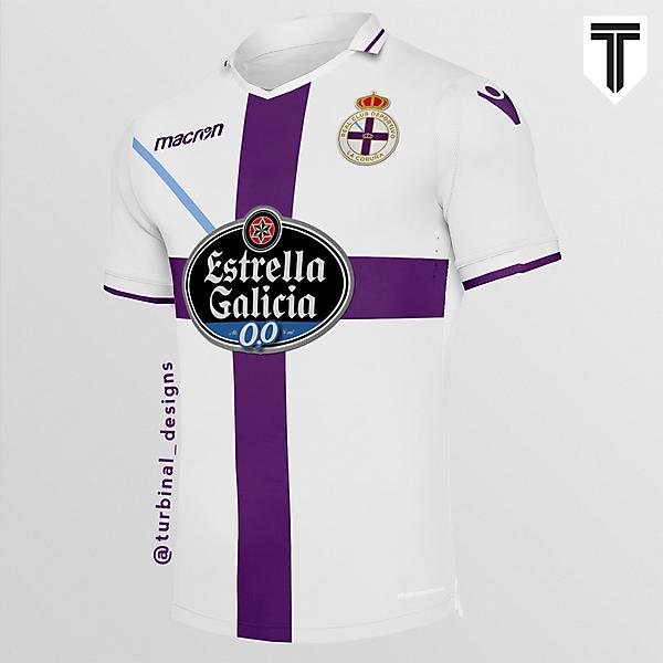 RC Deportivo La Coruña Away Concept Kit