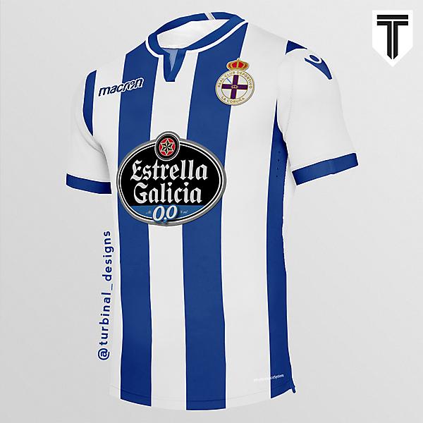 RC Deportivo La Coruña Home Concept Kit