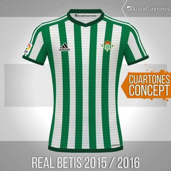 Real Betis2015 / 2016<br />Concept Shirt