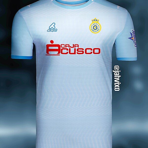 Real Garcilaso home jersey Redesign crest by Csport