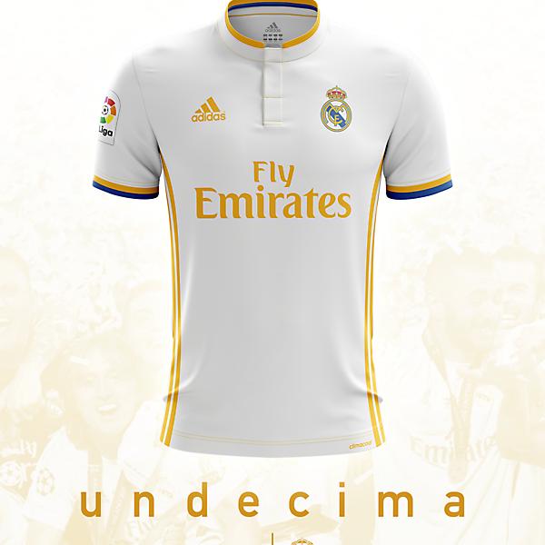 Real Madrid 16/17 Home Shirt