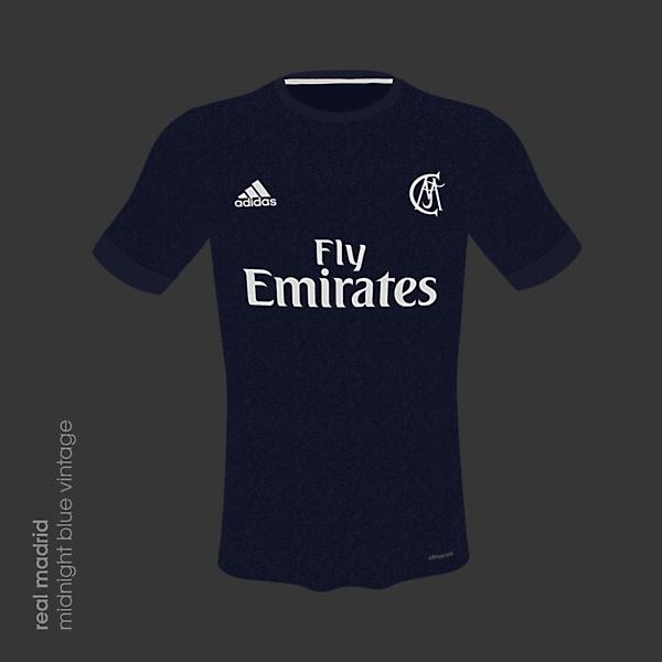 Real Madrid 18/19 Midnight Blue Vintage