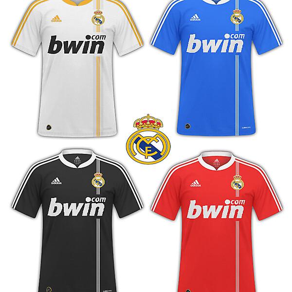 Real Madrid fantasy kits