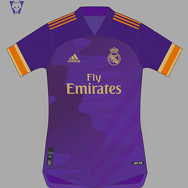 Real Madrid 2020 away shirt concept