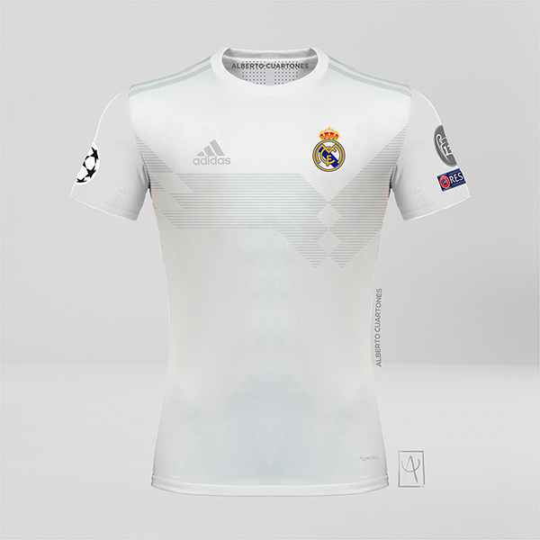 Real Madrid adidas 70th anniversary Jersey