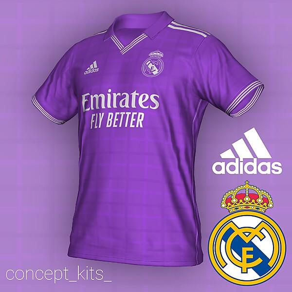 Real Madrid away- Plaza Mayor inspired