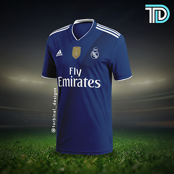Real Madrid Away Concept Kit