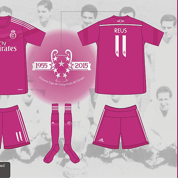 Real Madrid Away Kit 2014/2015 - Prediction