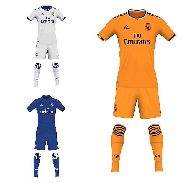 Real Madrid CF fantasy 19/20 kits