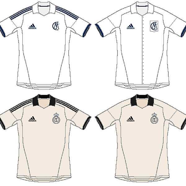 Real Madrid Classical Inspiration Kits