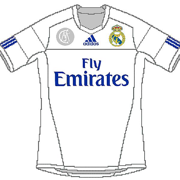 Real Madrid Adidas Home