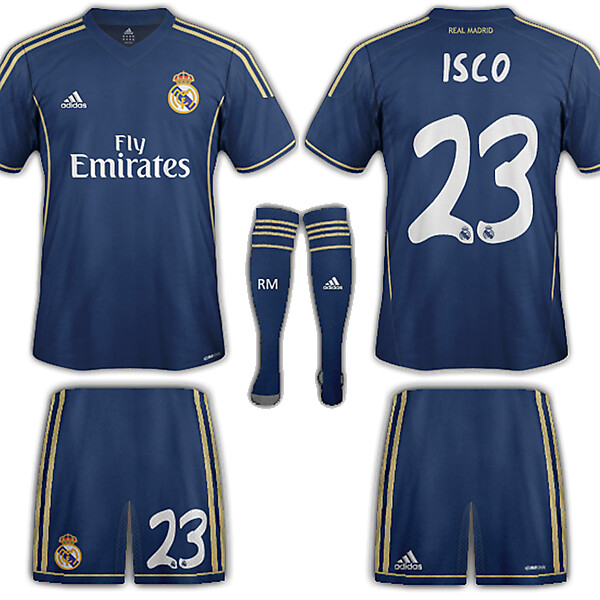 Real Madrid Fantasy away