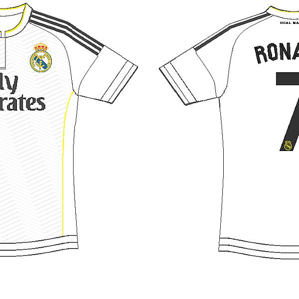 Real Madrid home kit 2015-2016