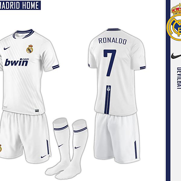 Real Madrid Home Nike