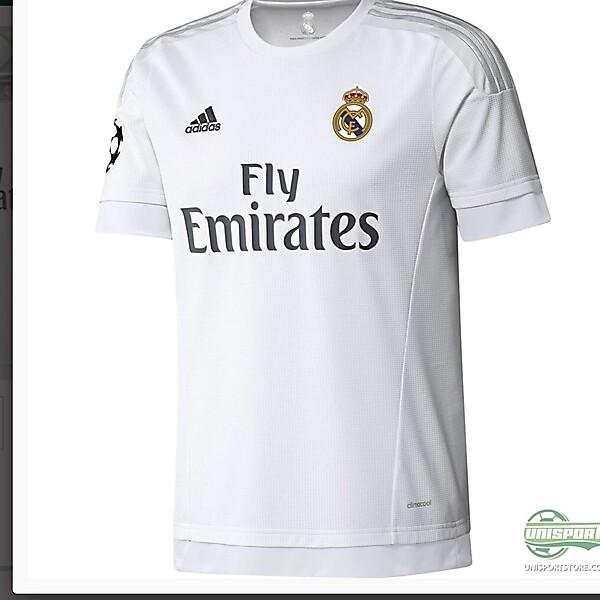 Real Madrid kit 16-17