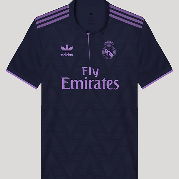 Real Madrid Retro Away Kit