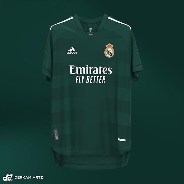 Real Madrid x Adidas - Third Concept