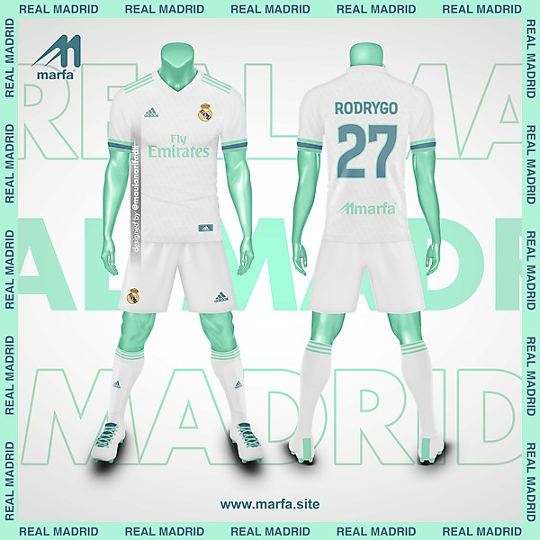 REAL MADRID X ADIDAS FANTASY KIT CONCEPT