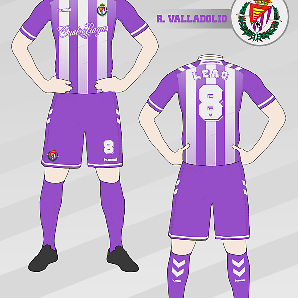 Real Valladolid Home Kit