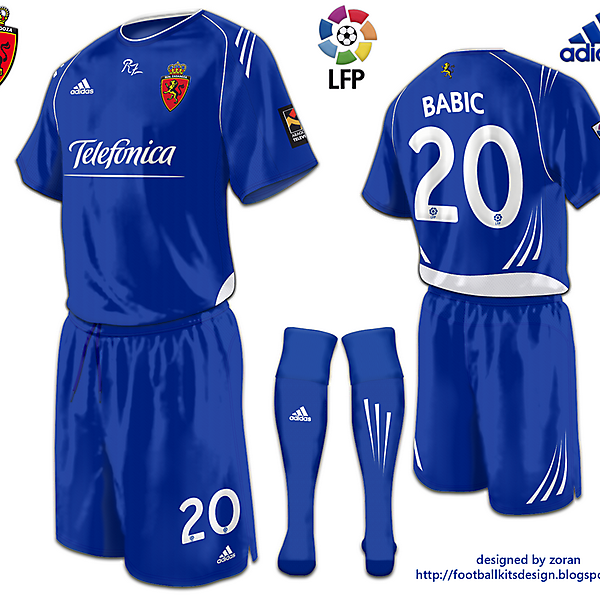 Real Zaragoza fantasy away