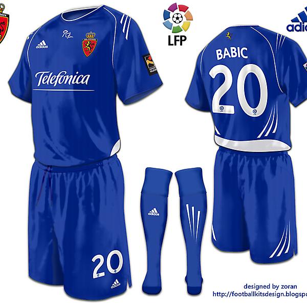 Real Zaragoza fantasy away