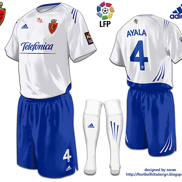 Real Zaragoza fantasy home