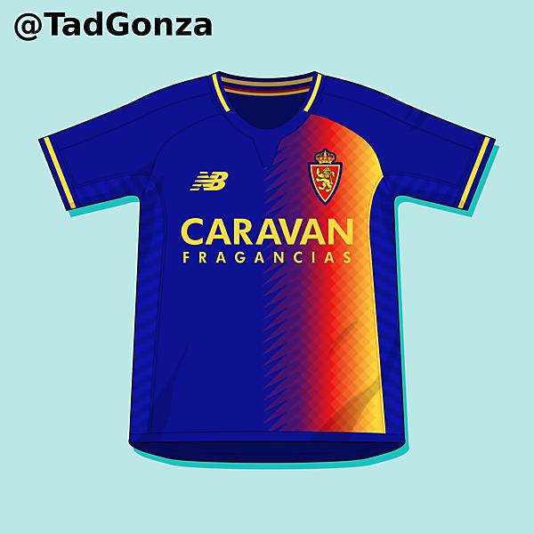 Real Zaragoza Third Shirt