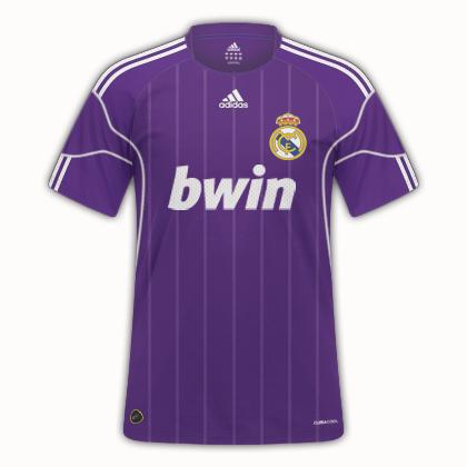 Real Madrid 11/12 Third Kit