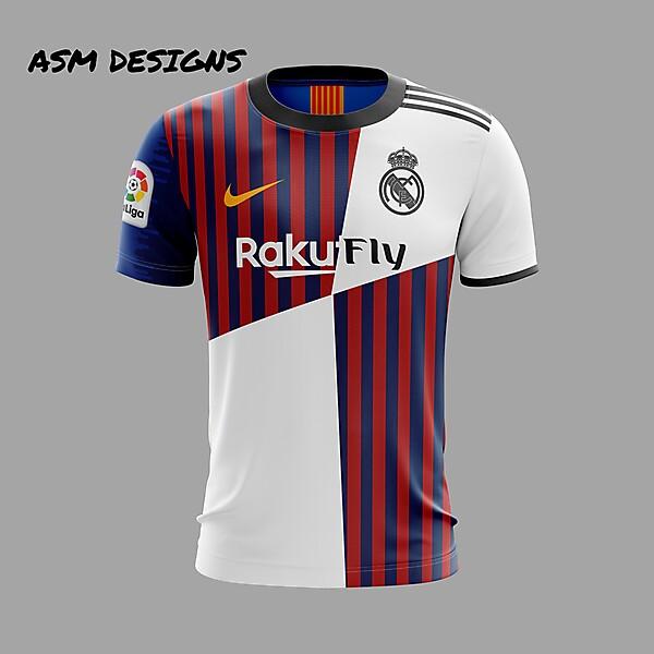 Ream Madrid/FC Barcelona 2019 Kit