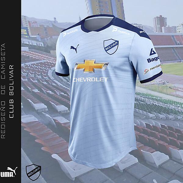 Rediseño de camiseta 2021 - Club Bolívar