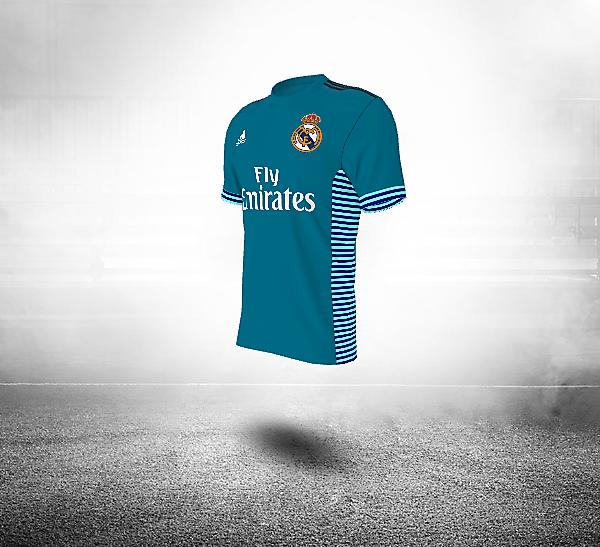 Rel Madrid Kits Away 2017