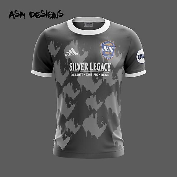 Reno 1868 FC Adidas 2019 Alternate Kit