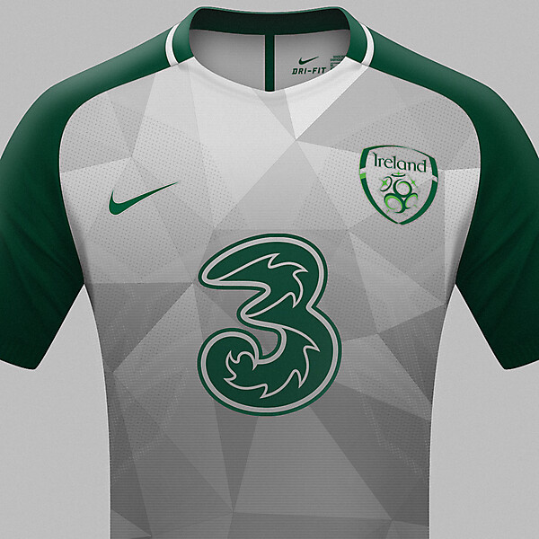 Republic of Ireland Nike away jersey