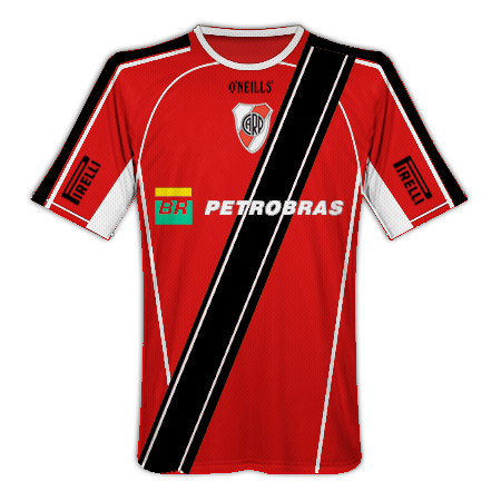 River Plate Home, Away and Third