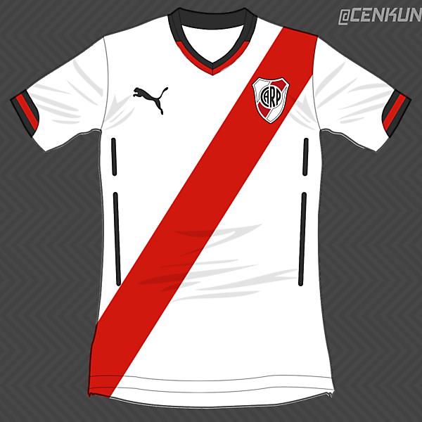 River Plate Home / Puma
